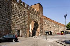 L'Italia, Verona fortificazioni Immagini Stock Libere da Diritti