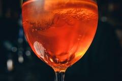 L'italiano classico Aperol Spritz il cocktail Immagini Stock Libere da Diritti