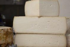 L'italiano elabora i formaggi Fotografie Stock
