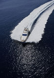 l'Italie, île de Panaresa, yacht de luxe Photos stock