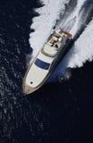 l'Italie, île de Panaresa, yacht de luxe Photos libres de droits