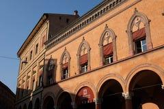 L'Italie, Bologna, aperçu de Palazzo Isolani Images libres de droits