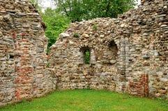 L'Italie Castelseprio ruine l'UNESCO Images stock