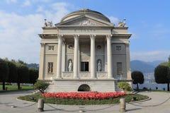 l'Italie, Como : Tempio Voltiano Image libre de droits