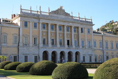 l'Italie, Como : Villa Olmo Photos stock