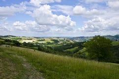 L'Italie du nord - paysage rural Photo libre de droits