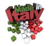 l'Italie a effectué Images stock