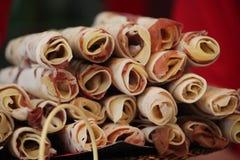 l'Italie, Emilia-romagna, plaquent complètement du pain type Images libres de droits