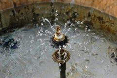 L'Italie est également une fontaine historique de photo de jets de l'eau photos stock