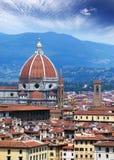 l'Italie Florence Cath?drale Santa Maria del Fiore image stock