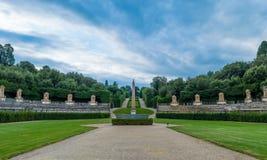 L'Italie, Florence, jardin de Boboli Images stock