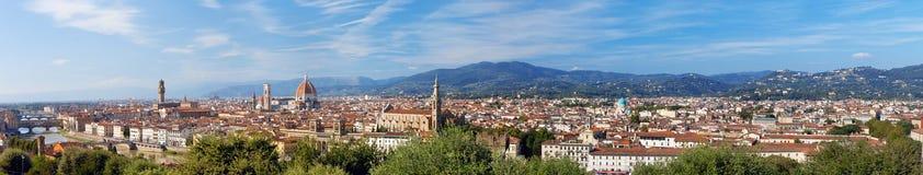 l'Italie. Florence. Panorama image libre de droits