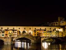 L'Italie, Florence, Ponte Vecchio Image libre de droits