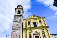l'Italie Hurch de ¡ de Ð en San Zeno di Montagna image libre de droits
