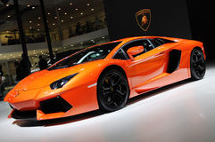l'Italie Lamborghini Aventador LP 700-4 Images stock