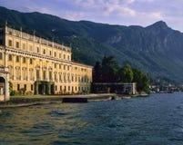 l'Italie - le lac Garda - villa Bettoni Image stock