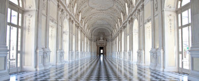 l'Italie - le Royal Palace : Galleria di Diana, Venaria Photographie stock libre de droits