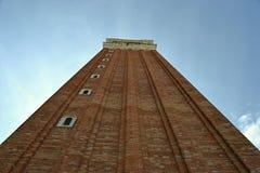 L'Italie, ltaly, Venezia, Piazza, Basilica di San Marco, campanile, place, vieil escalier en métal photo libre de droits