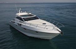 l'Italie, mer de Tirrenian, yacht de luxe Rizzardi 45 ' Image stock