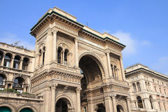 l'Italie - Milan Photo stock