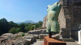 L'Italie Mt le Vésuve Photographie stock libre de droits