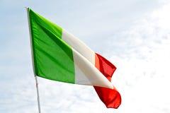 l'Italie ondulant dans le bleu et la vague Photos stock