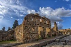 L'Italie, Pompéi, rue 02,01,2018 à Pompeii, Italie Pompeii est a Images libres de droits