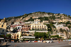 l'Italie : Positano Image libre de droits