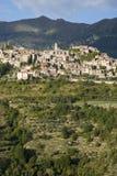 l'Italie Province des Imperia Village médiéval Triora Photographie stock libre de droits