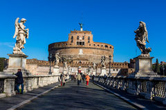 L'Italie, Rome, castel Angelo sant Photo libre de droits
