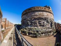 L'Italie, Rome, castel Angelo sant Images stock