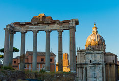 L'Italie, Rome, forum romain Photos stock