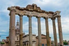 L'Italie, Rome, forum romain Image libre de droits