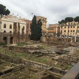 L'Italie, Rome, Largo di Torre Argentina Photos stock