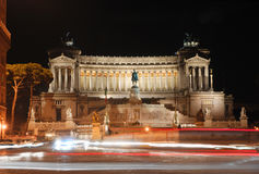 l'Italie. Rome. Monument de Vittorio Emanuelle II Photo stock