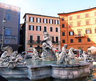 L'Italie, Rome, Piazza Navona Images libres de droits