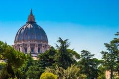 L'Italie, Rome Vativan Image libre de droits