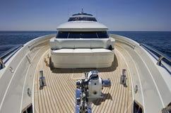 l'Italie, S.Felice Circeo (Rome), yacht de luxe Images libres de droits