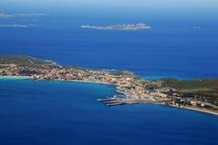 l'Italie, Sardaigne du nord, smeralda de côte Photographie stock libre de droits