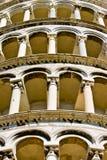 l'Italie se penchant la tour de Pise Photo stock