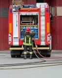 L'Italie, service informatique, Italie - 10 mai 2018 : sapeurs-pompiers italiens avec l'unif photo libre de droits