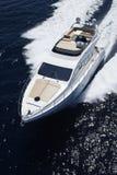l'Italie, Sicile, île de Panaresa, yacht de luxe Photos stock