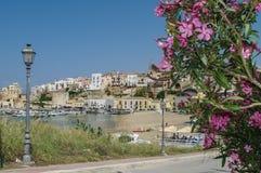 L'Italie, Sicile, Castellammare del Golfo Photographie stock
