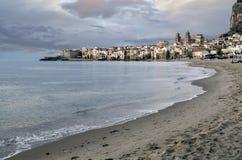 L'Italie, Sicile, Cefalu Photo libre de droits