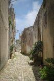 L'Italie, Sicile, Erice, Images libres de droits