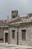 L'Italie, Sicile, Erice, Photo libre de droits