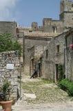 L'Italie, Sicile, Erice, Images stock