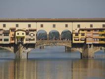 L'Italie, Toscane, Florence, rivière de l'Arno Photo stock