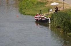 L'Italie, Toscane, Florence, rivière de l'Arno Image libre de droits