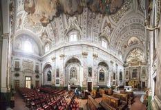 L'Italie, Toscane, monastère de Camaldoli, l'église Photographie stock libre de droits
